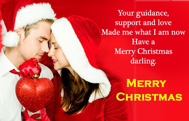 Merry Christmas Quotes Wishes For Husband Wife