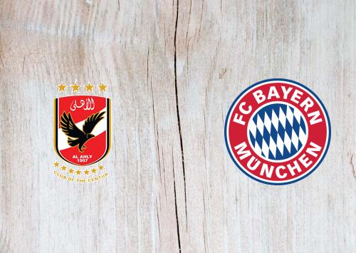 Al Ahly vs Bayern Munich -Highlights 08 February 2021