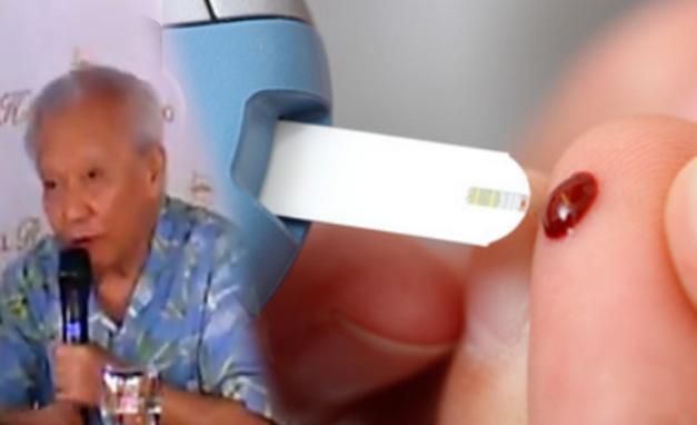five minutes treatment to cure diabetis