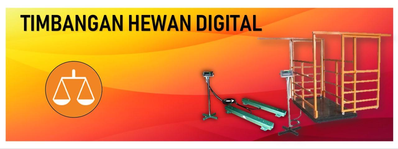 Timbangan Hewan Digital