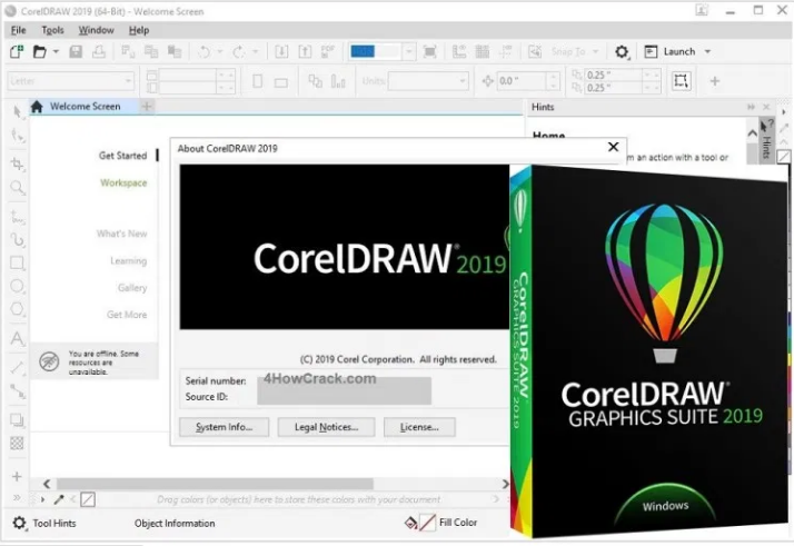 Corel Draw 2019 With Crack