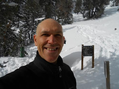 Jim Tolles, spiritual teacher, snow, forest