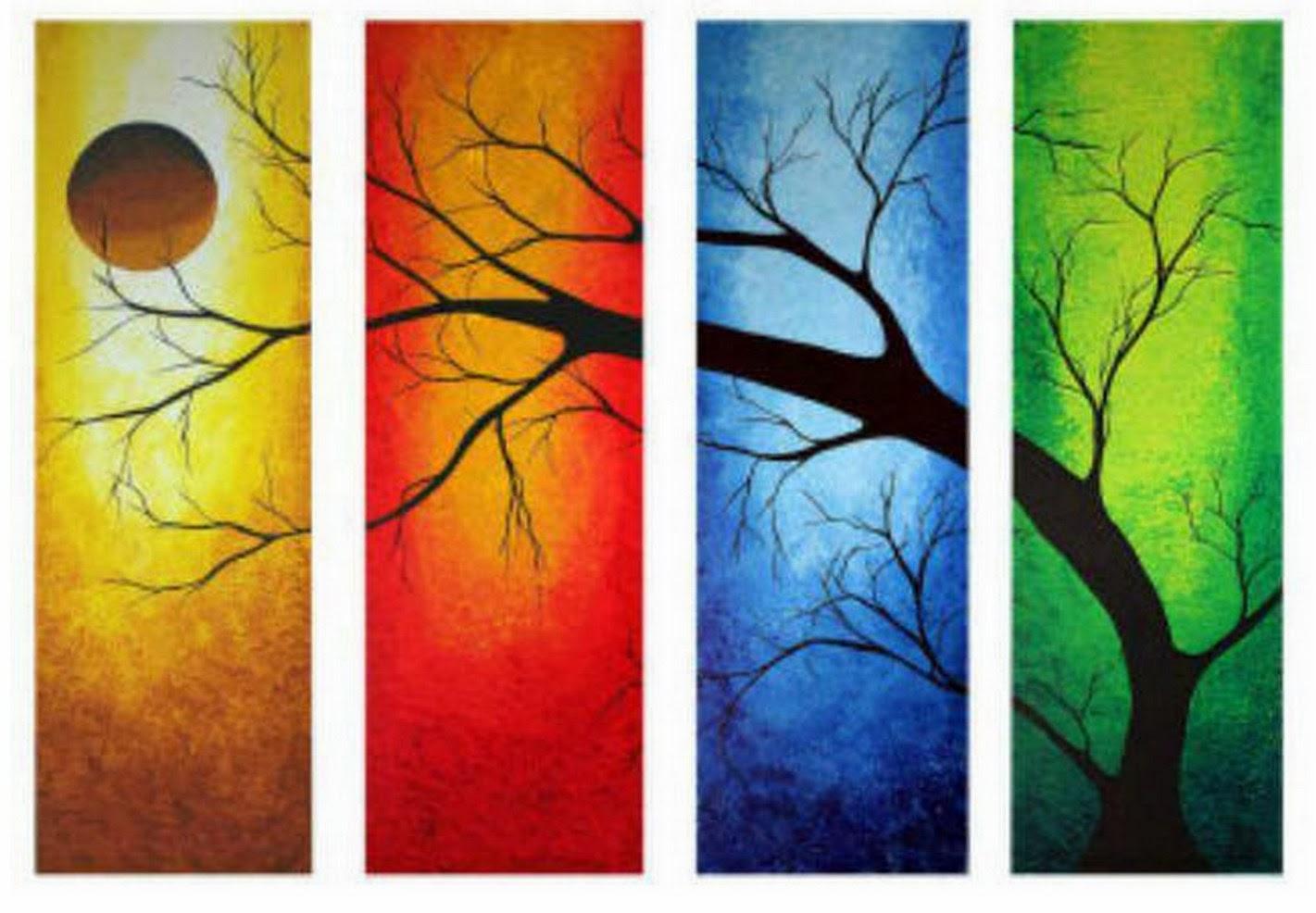 Cuadros modernos pinturas y dibujos abstractos - Cuadros de colores ...