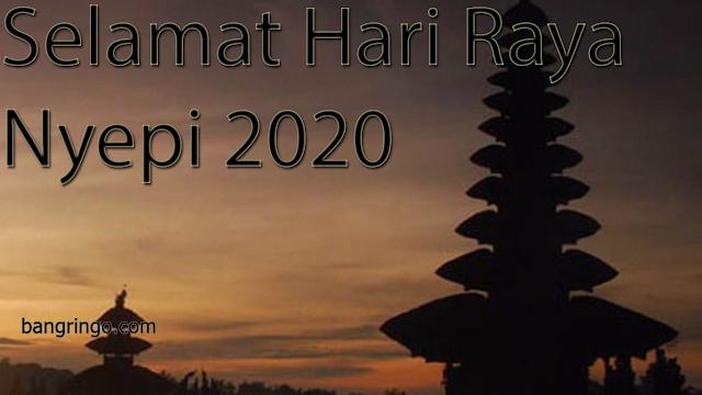 Selamat Hari Raya Nyepi 2020 - Casual Version
