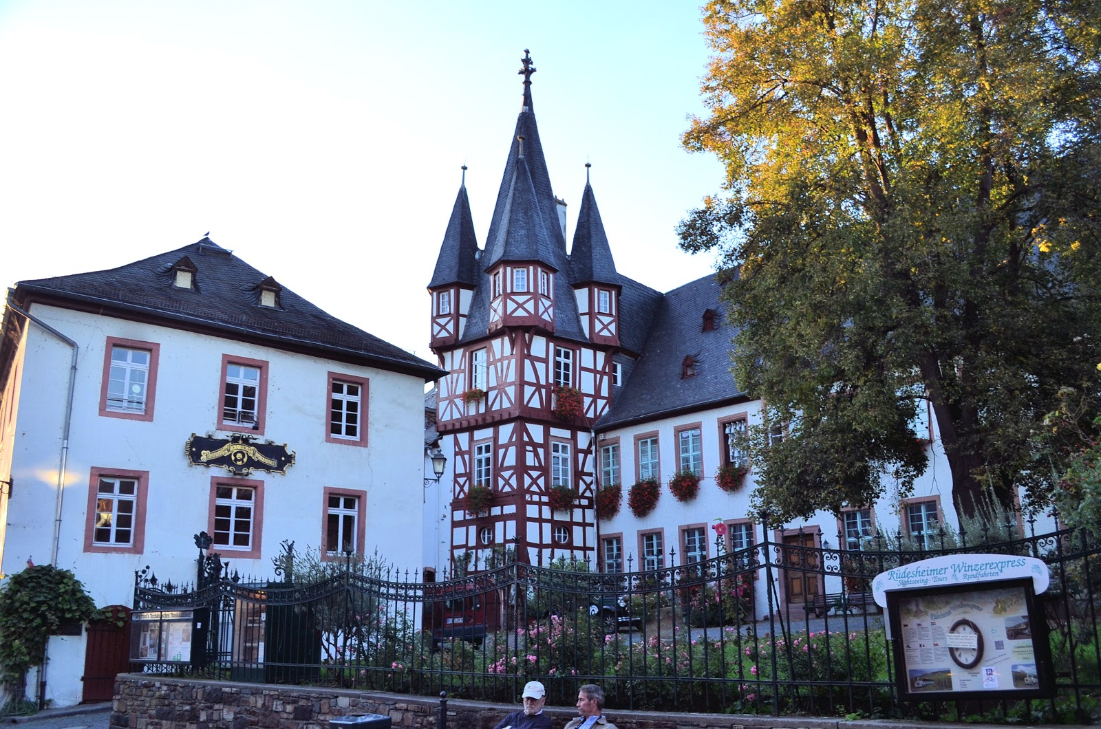 One of the most magical places in Rüdesheim—Siegfried's Mechanical Music Cabinet Museum.