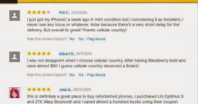 The good and the bad things in buying cell phones online