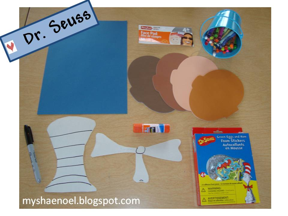 Learn and Grow Designs Website Dr Seuss Cat in the Hat Craft