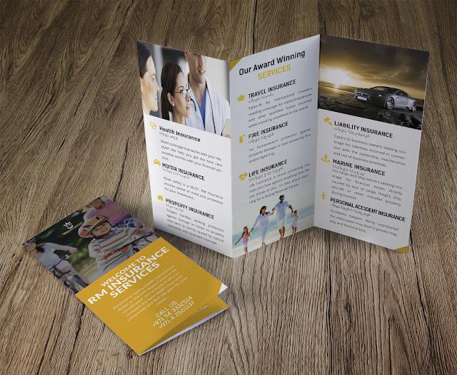 Rm insurance services company brochure design emerson altavistaventures Image collections