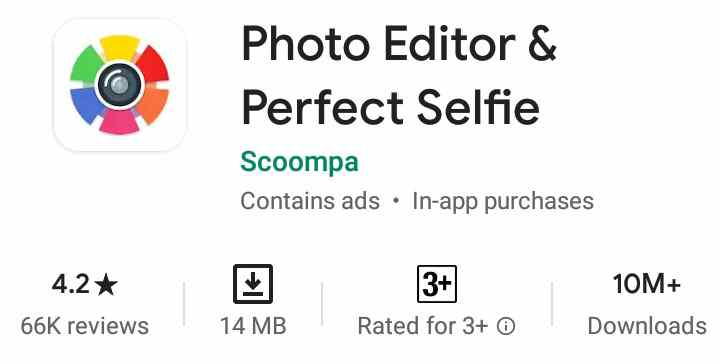 Photo Editor And Perfect Selfie