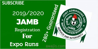2019 JAMB EXPO|2019 JAMB RUNZ/RUNS|2019 FREE JAMB ANSWERS