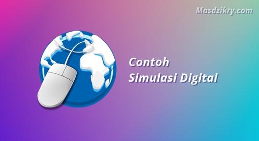 Contoh simulasi digital