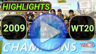 ICC World Twenty20 2009 Match Highlights Online