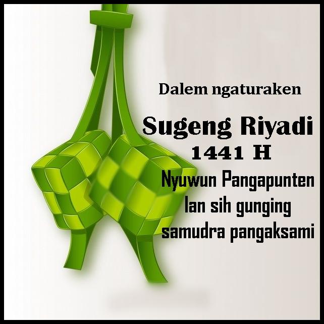 15 Kata Ucapan Selamat Idul Fitri 2020 Bahasa Jawa
