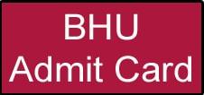 BHU SET Admit Card