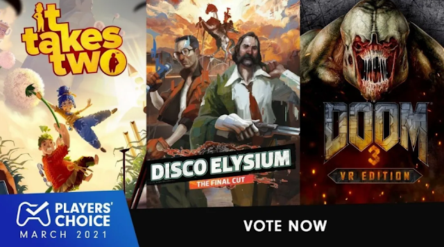 PlayStation Players Choice March 2021 - Cast your vote for the Best New Game of March 2021 | TechNeg