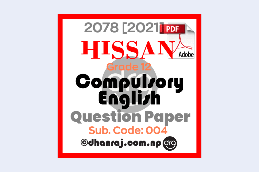 Compulsory-English-Grade-12-Pre-Board-Exam-Question-Paper-2078-2021-HISSAN-PDF-Download