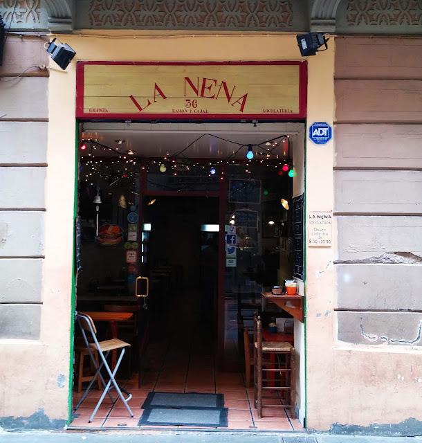 restaurant,bon-restaurant,quartier,gracia,barcelone,madame-gin,blog,La,Nena, Xocolateria