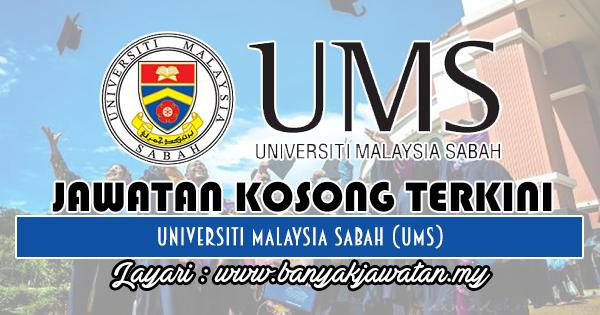 Jawatan Kosong 2018 di Universiti Malaysia Sabah (UMS)