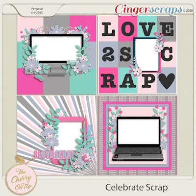 Celebrate Scrap Templates