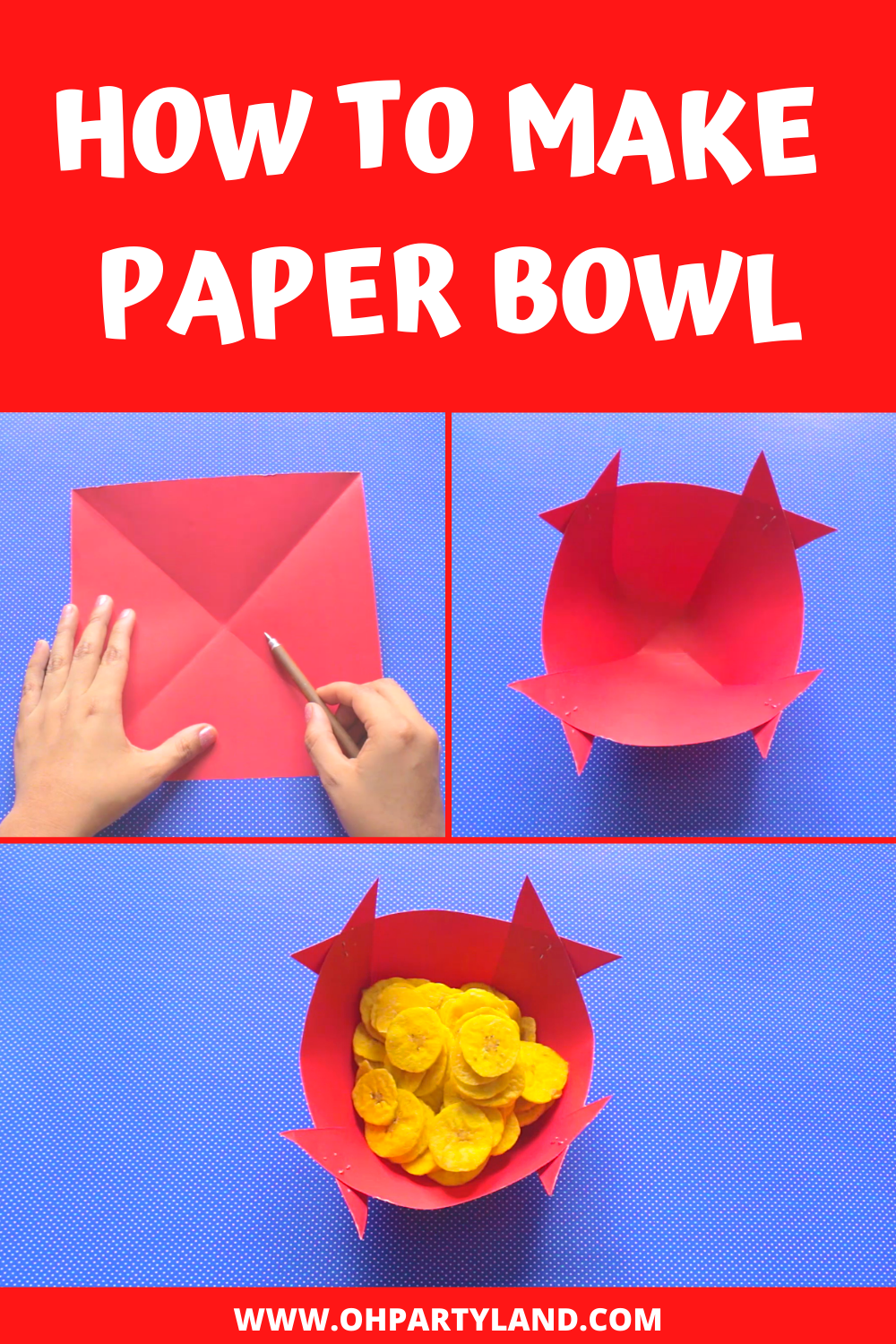 how-to-make-paper-bowl