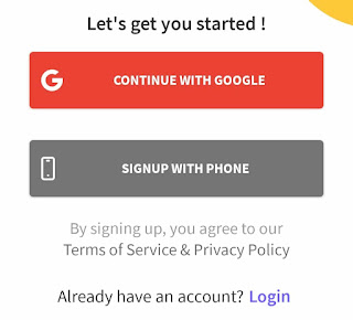 Amigoz app register