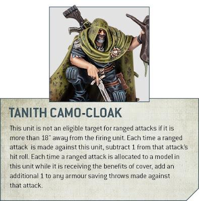 Reglas de los Fantasmas de Gaunt y notas de diseño para ejércitos Tanith