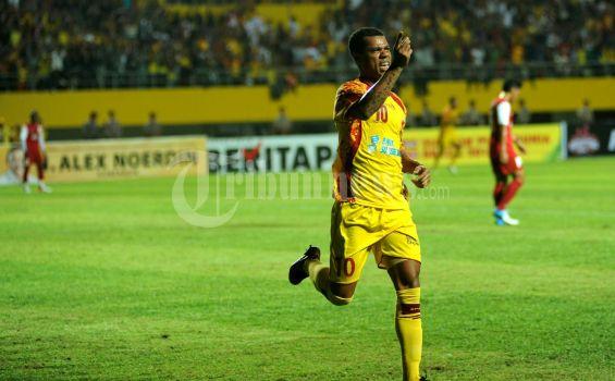 Pemain Sriwijaya FC di Torabika Soccer Championship tahun 2016, Hilton Moreira (sumber foto : internet)