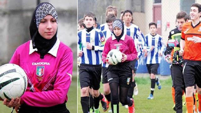 Chahida Chekkafi, wasit Chahida Chekkafi, wasit sepakbola Chahida Chekkafi, wasit wanita, wasit sepakbola wanita, piala dunia wanita FIFA