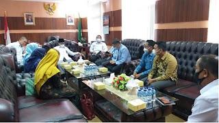 Ketua Pengadilan Tinggi Agama Palembang Menerima Kunjungan Dekan Fakultas Syariah UIN Raden Fatah Palembang