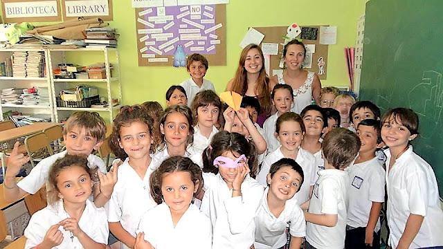 buenos aires argentina 1st grade english teacher