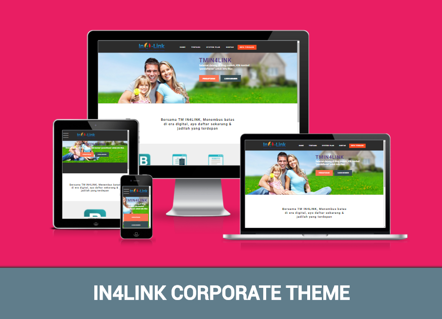 Template Bisnis IN4LINK Corporate
