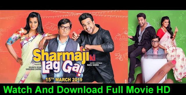 Sharma-ji-ki-lag-gayi-full-movie-watch-online-2019-(Poster)