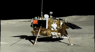 imagenes mostradas por China del lado oscuro de la Luna