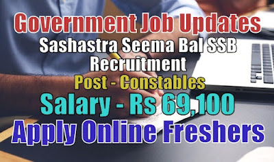 SSB Recruitment 2020