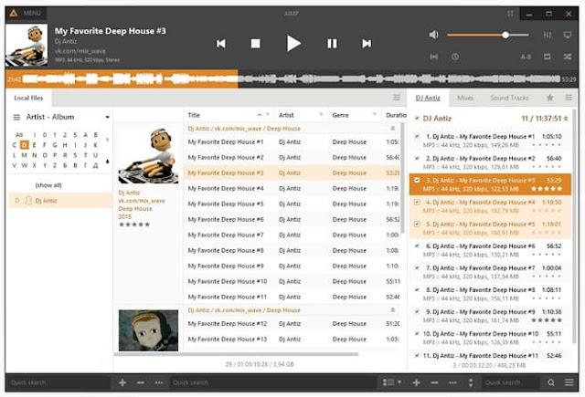 5 Software Pemutar Musik Gratis Terbaik Untuk Windows 2019 - AIMP