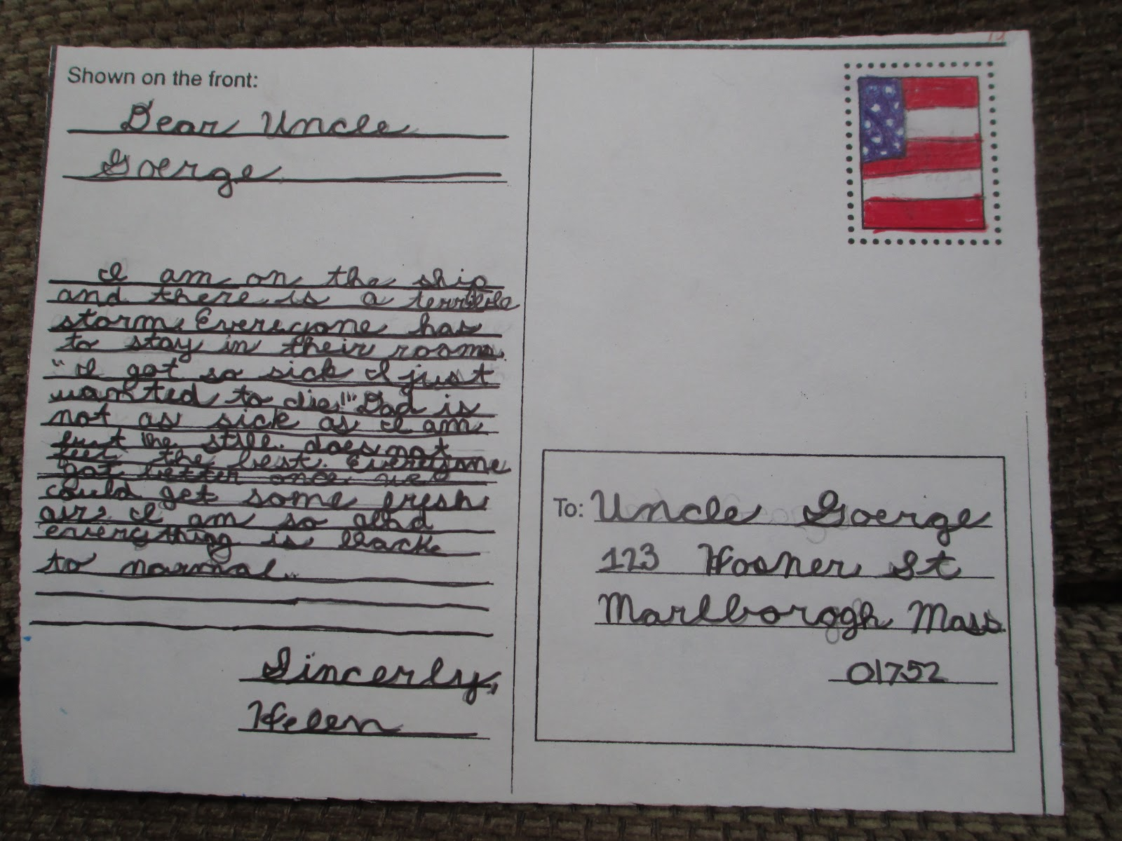 Fabulous In Fifth Postcards From Ellis Island
