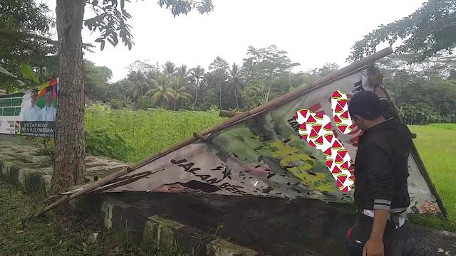 Juru Parkir Tewas Tertimpa Baliho Jokowi, Polisi Selidiki Pemasangnya