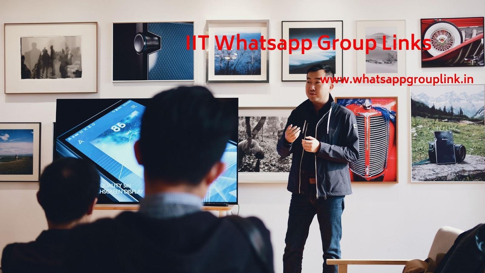 Whatsapp Group Link: IIT Whatsapp Group Links