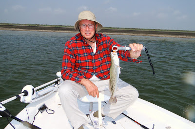 Speckled Trout, Roger Royce, JustGoFishin.com