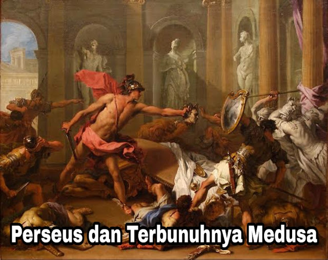Kembali ke Argos - Terbunuhnya Medusa (Yunani)