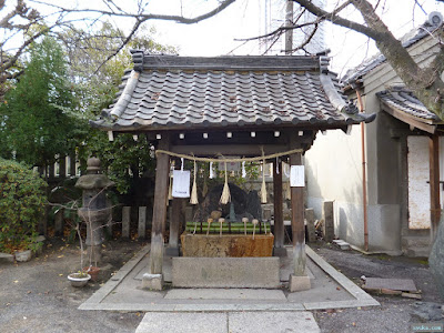 櫻宮神社手水舎