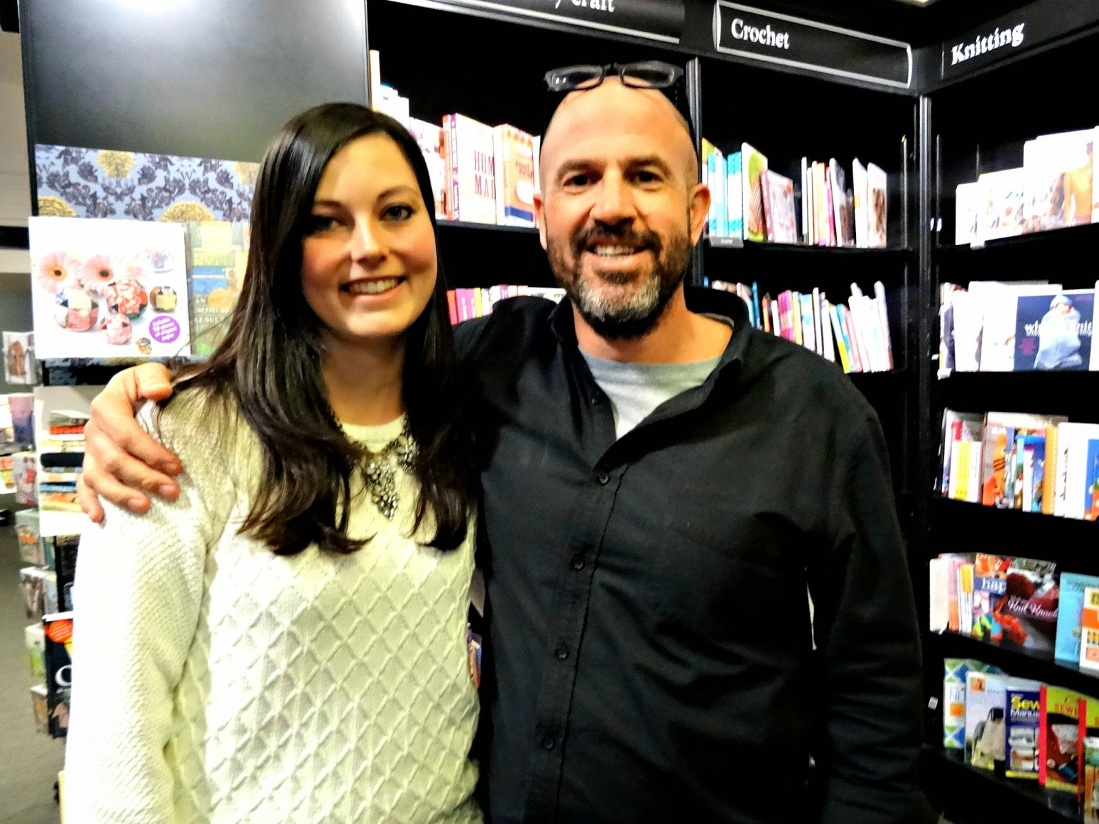 Endgame Waterstones Bath Me and James Frey