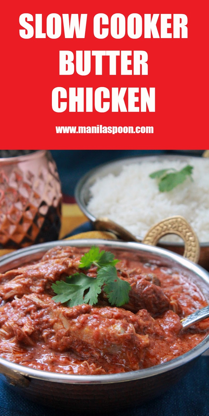 The combination of spices plus a hint of citrus goodness make this Butter Chicken totally delicious! Easy, simple, tried and tested recipe made in your slow cooker!