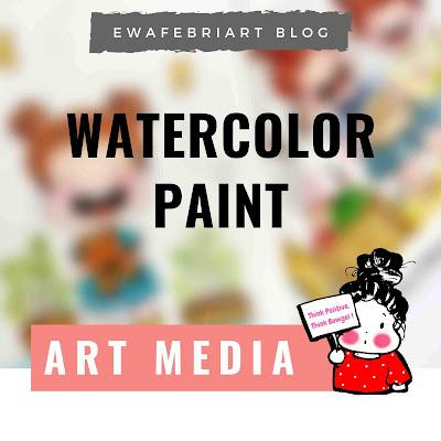alat melukis dengan cat air