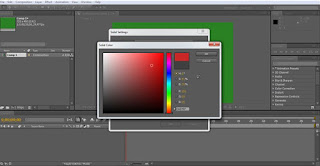 tutorial adobe after effect cs4 mengatur warna solid layer