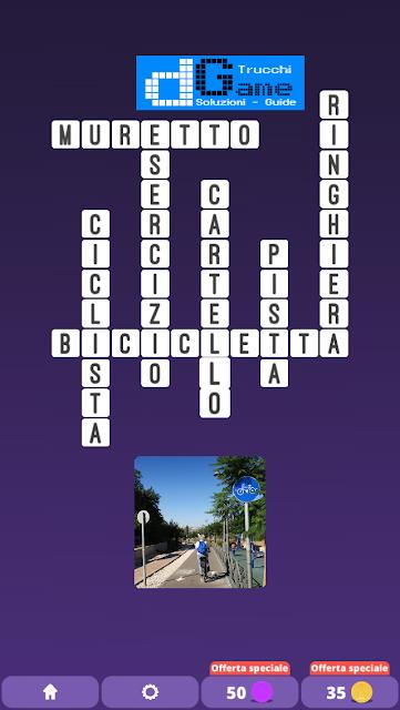 Soluzioni One Clue Crossword livello 23 schemi 1 (Cruciverba illustrato)  | Parole e foto