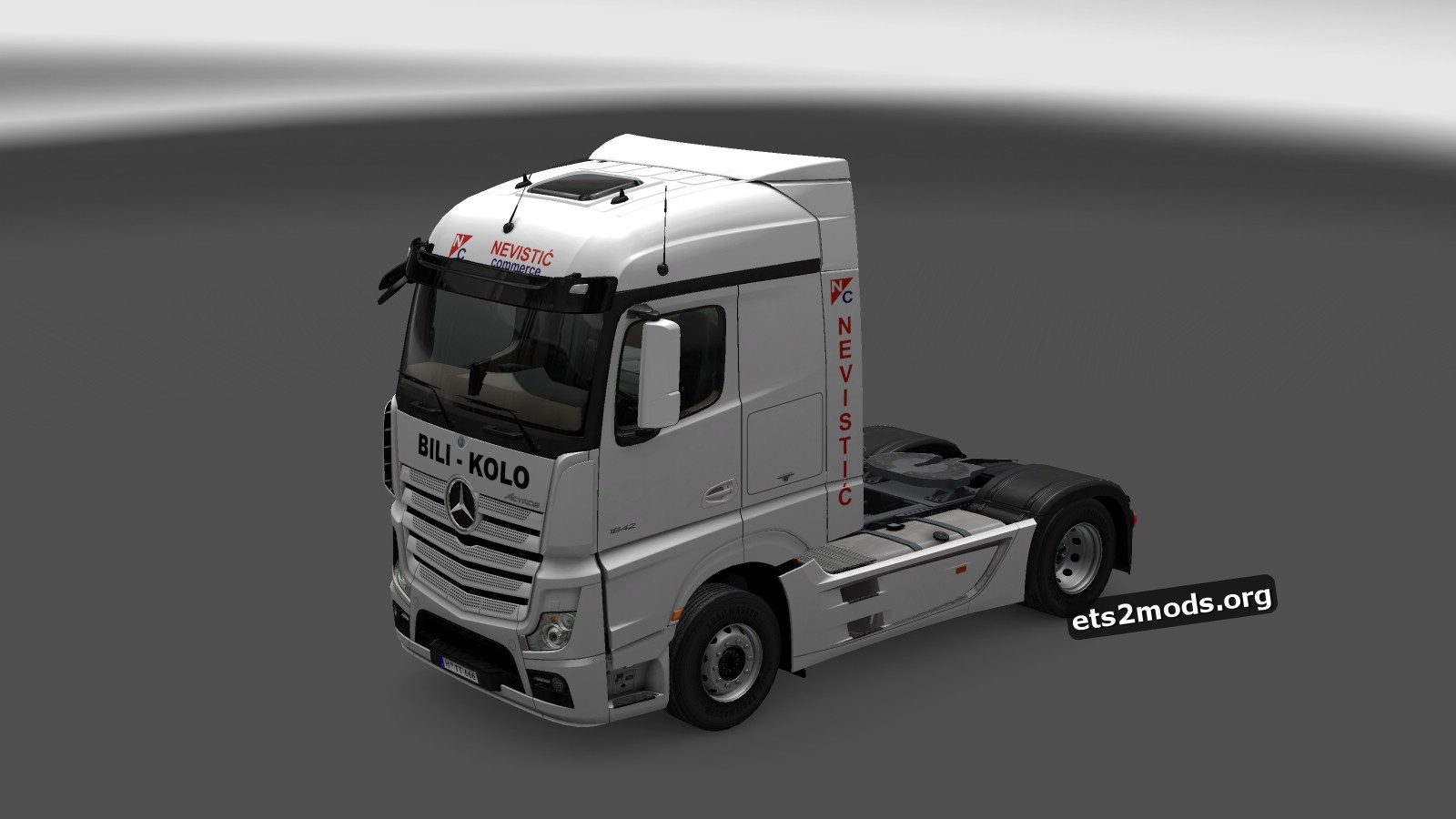 Nevisitc Commerc Skin for Mercedes MP4