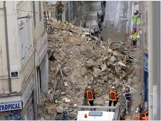 Many feared dead in Marseille building collapse
