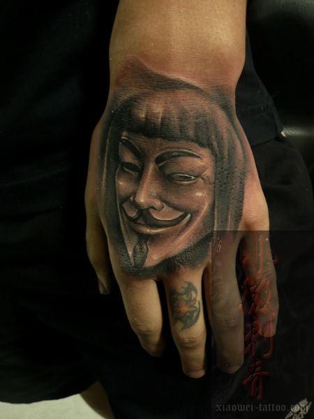 Tatuajes V de Vendetta