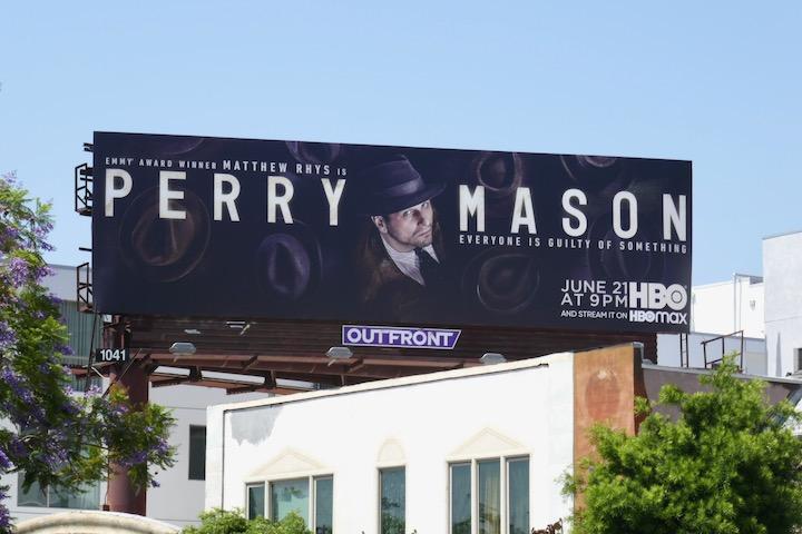 Perry Mason TV remake billboard
